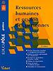 Ressources humaines et gestion des personnes